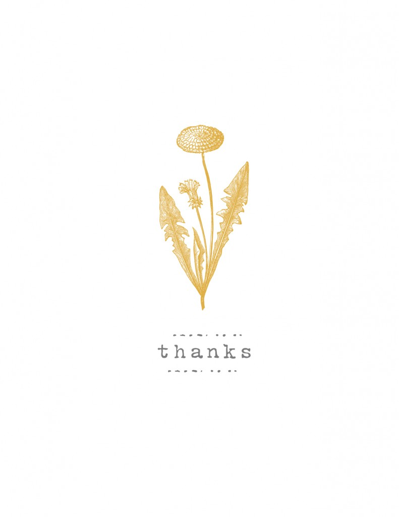ThankYouCards marigold 791x1024 Updated Thank You Card Printables