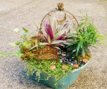 Fairy gardens sweetbriar sisters for Sweetbriar garden homes