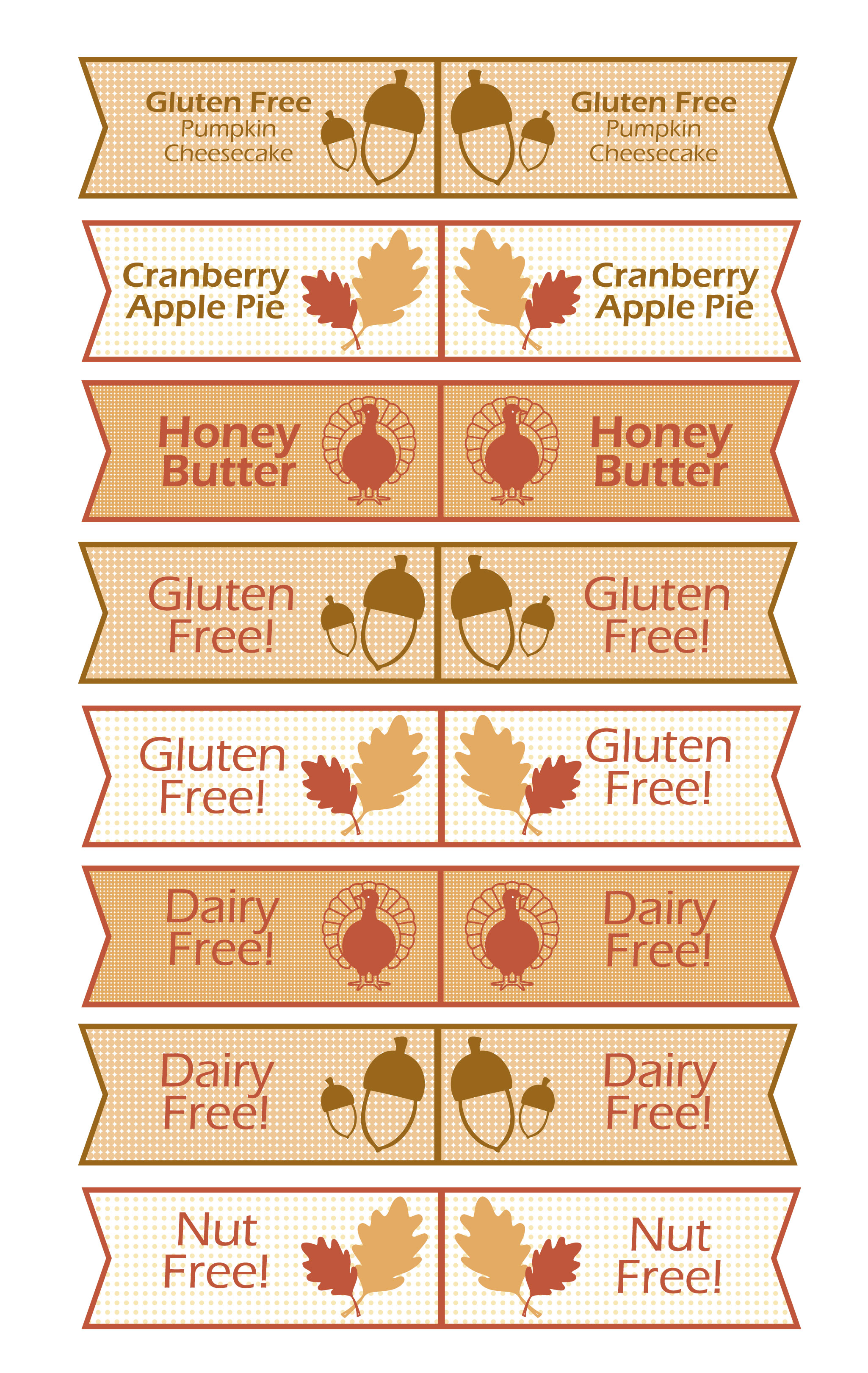 Free Thanksgiving Toothpick Flag Printable Sweetbriar Sisters
