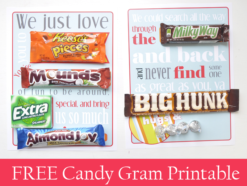 candy poster printable