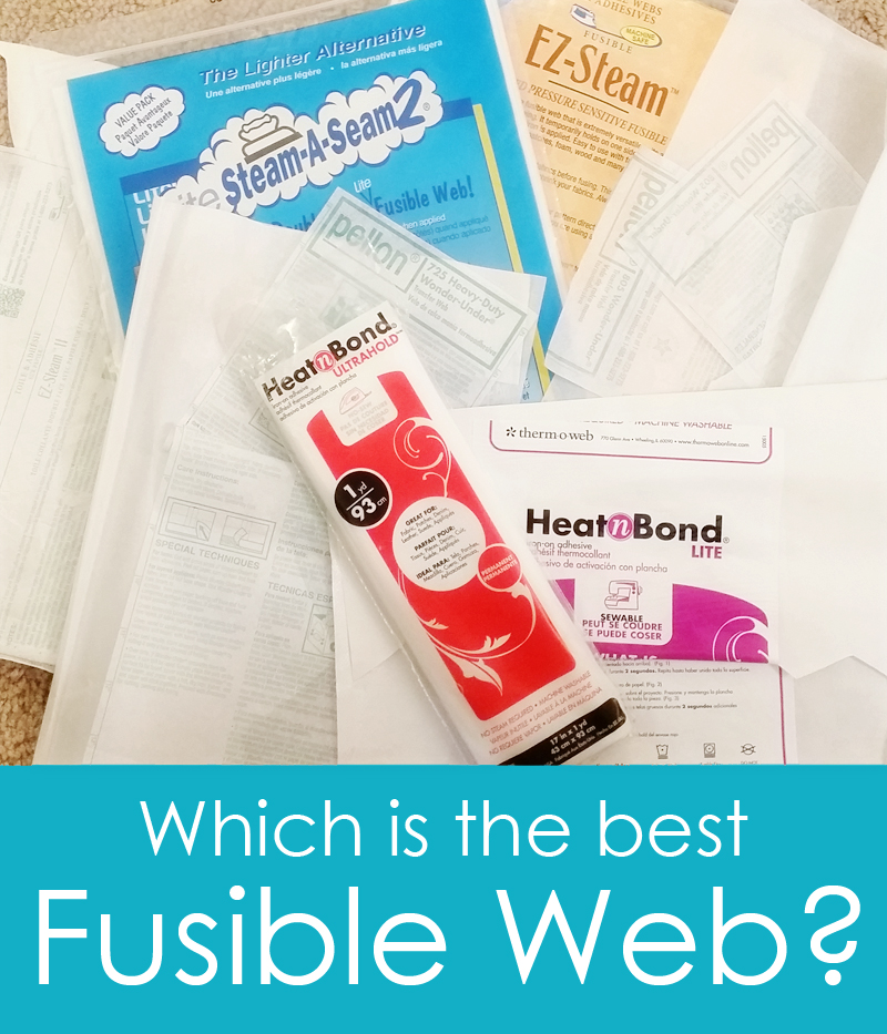 The best fusible web
