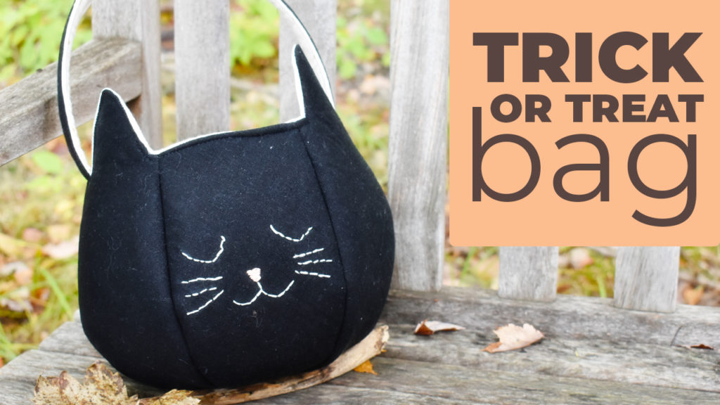 trick or treat sewing bag