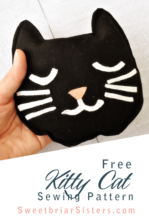 kitty cat sewing pattern