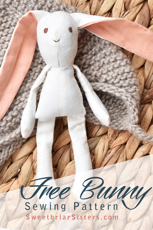 free sewing pattern for bunny