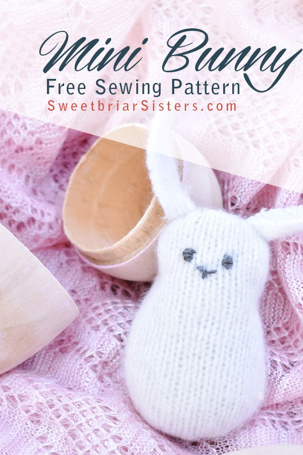 free mini bunny pattern
