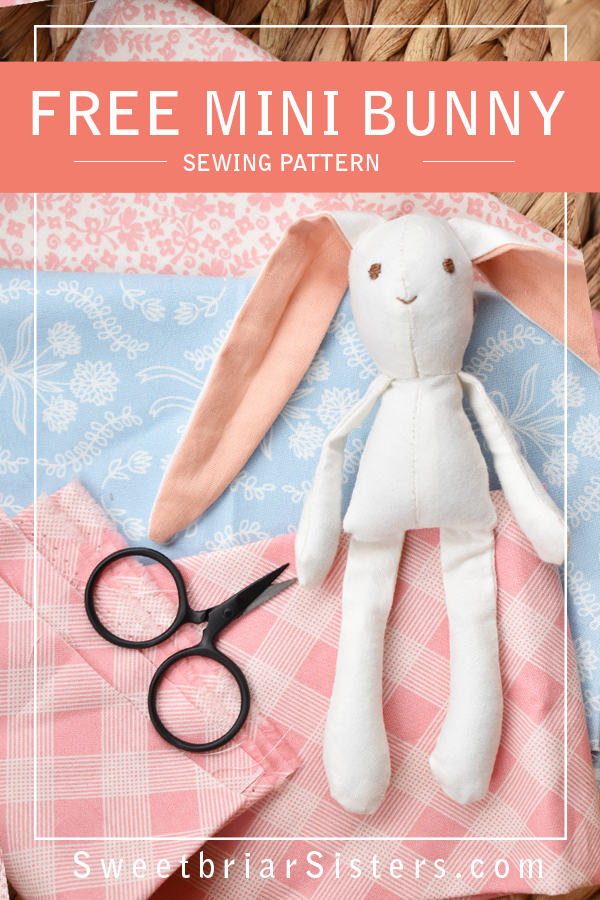 mini bunny sewing pattern free