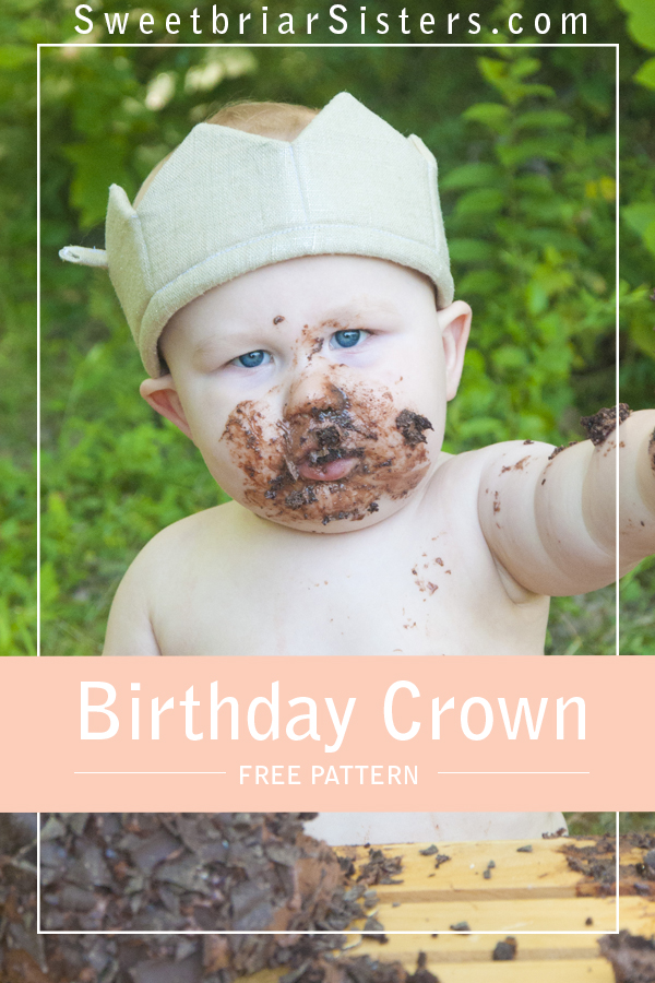 free crown sewing pattern