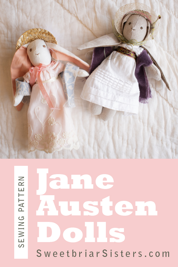 jane austen doll sewing pattern