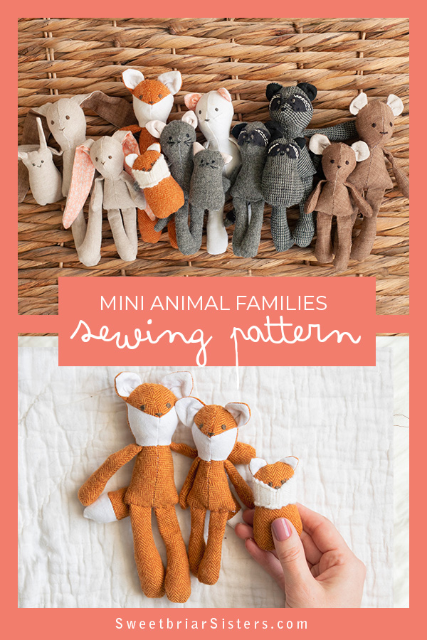 mini woodland animals