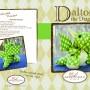 Dalton the Dragon pattern cover