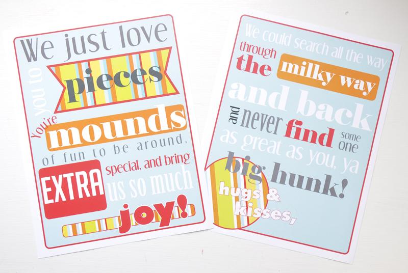 Free Candy Gram Printable | Sweetbriar Sisters