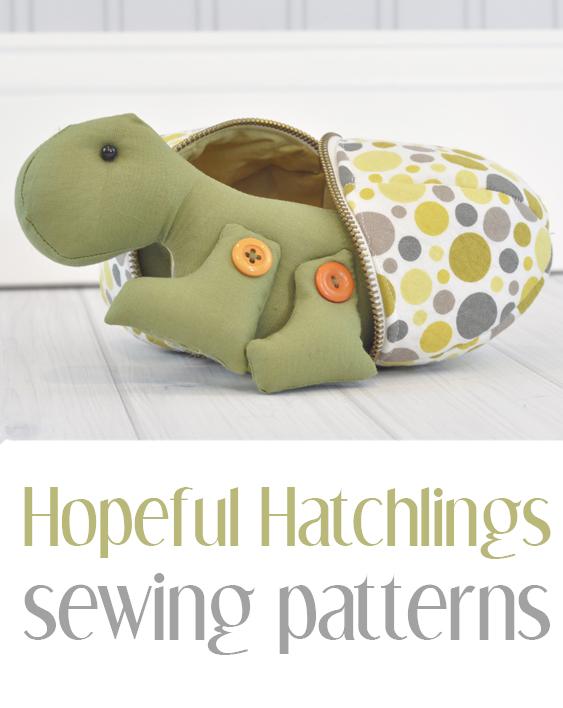 Hopeful Hatchlings Sewing Pattern Book | Sweetbriar Sisters